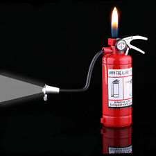 Novel Funny Fire Extinguisher Butane Gas Lighter Windproof Lighter Gifts NO23