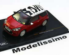 1:43 Ixo Citroen DS3 Sport Chic 2011 red/white