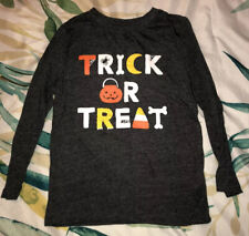 """Toddler Boy """"Trick Or Treat� Halloween Long Sleeve T-Shirt, Size 5T"""