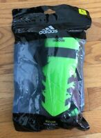 Adidas Performance Ghost Youth Shin Guards Solar Green SIZE LARGE CZ9586 NEW