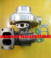 T3 twin scroll A/R .70 front A/R .82 Turbine rear GT3584 GT35 T66 turbocharger