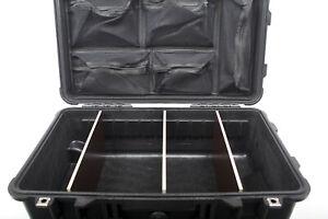Tool-Case & pimpOrganizer: Trennwände & Deckeleinteiler eingebaut im Peli 1510