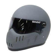 Bandit Xxr casco Matt Asfalto Gris Street Fighter casco personalizado agresivo Cool