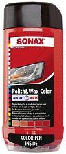 SONAX Polish & Wax COLOR NanoPro red 500ml 296.400