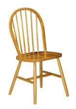 Julian Bowen Windsor Tradtional Farmhouse Dining Chair   Honey Pine Finish