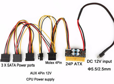 6pin DC PC ATX Power Supply For Car ATOM HTPC mini ITX Pico PSU unit In 12V