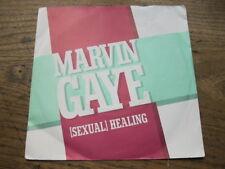 "EX   MARVIN GAYE - Sexual Healing / Instrumental - 7"" Single"