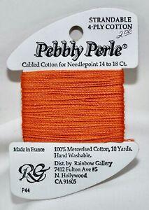 Rainbow Gallery Pebbly Perle 100% cotton 10 yards P44 orange