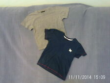 Boys 4-5 Years - Two T-Shirts - Navy Blue & Grey