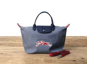 Rare type new Longchamp Le Pliage Neo medium shoulder bag handbag genuine