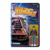 BACK TO THE FUTURE II MARTY MCFLY 1950S 3 3/4 INCH REACTION ACTION FIGURE SUPER7