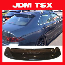 JDM 04 05 06 07 08 TSX CL9 Rear Roof Window Visor with Stability Brackets -Shade