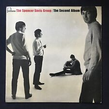 SPENCER DAVIS GROUP The Second Album FONTANA TL.5295 UK Orig MONO VINYL LP