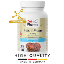 Reishi Mono 450 mg (120 capsules) protein supply healthy diet ZEINPHARMA