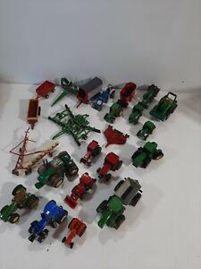 Farm Junkyard 1:64 Die Cast Ertl John Deere New Holland Case IH Tractors Trailer