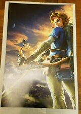 Zelda Breath of the Wild Two Sided Poster Priority Shipping Tubes