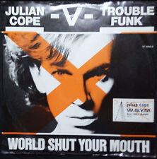 "JULIAN COPE - WORLD SHUT YOUR MOUTH 12"" SINGLE AUSTRALIA"