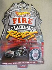 Hot Wheels 1:64 Fire Department Rods Series 1 1/12 Scorchin' Scooter