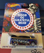 Hotwheels 2016 - VW DragBus [GRATEFUL DEAD][Real Riders/Rubber Tyres]