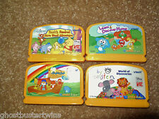 VTECH VSMILE INFANT BABY EARLY Developmental 4 LEARNING SYSTEM DISNEY GAME LOT