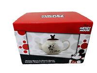 Disney Mickey & Minnie Mouse 44 oz Collectible Ceramic Teapot    New