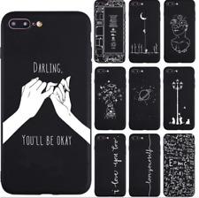 cover iphone 7 nera con disegni