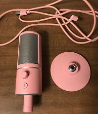 Razer Seiren X Quartz Pink microphone pink single-directional USB condenser Mic