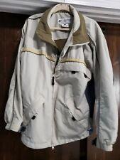 COLUMBIA Convert Waterproof Breathable Men's Ski Jacket Large Beige