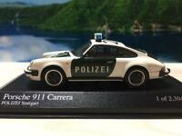 Minichamps 1/43 Porsche 911 Carrera Police White/Green