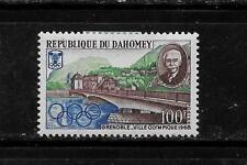 DAHOMEY SC #243 1967 100 FR OLYMPICS COMMEMORATIVE MINT-MH  SINGLE STAMP