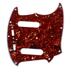 Guitar Pickguard Fits Mustang Classic Series style ,4ply Red Tortoise
