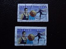 SUEDE - timbre yvert et tellier n° 2061 x2 obl (A29) stamp sweden (A)