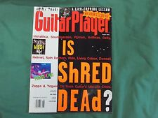 Aug '93 Guitar Player Magazine Is Shred Dead?