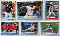 2019 Topps Update Father's Day Blue Baseball Cards Complete Set U You Pick /50