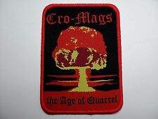 cro-mags the age of quarrel     WOVEN PATCH