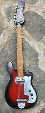 Vintage Rare Melody Electric 1960s Japan Guitar