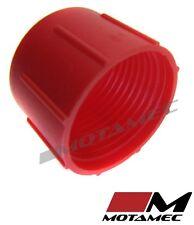 Motamec AN JIC -12 AN12 Tapa De Plástico Para Manguera De Combustible Cubierta de polvo rojo