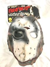 Máscara De Jason Voorhees Vorhees viernes 13th machete Halloween Elaborado Vestido 3322 2009
