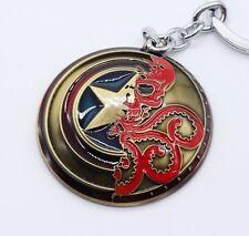 Keychain / Porte-clés - Marvel The Avengers Captain America Shield - Bronze