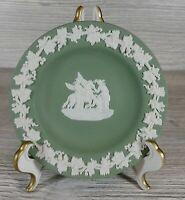 Vintage Wedgwood - Jasperware - Sage Green - Small Plate/Tinker Tray