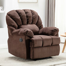 Recliner Chair Sleeper Sofa Bed Armchair Backrest Reclining Padded Theater Seat