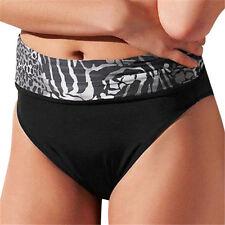"NWT ""Nairobi"" Size ""M"" Black Convertible Hi/Low Waist Bikini Swim Bottom-70% Off"