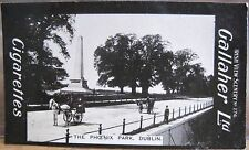 PHOENIX PARK Dublin Wellington Cigarette Card GALLAHER IRISH VIEWS 274 Ireland