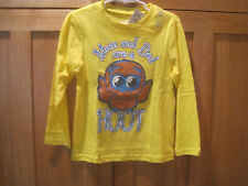 Toddler boy TCP MOM AND DAD ARE A HOOT OWL BRIGHT YELLOW SHIRT NWT 4T