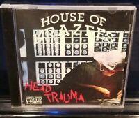 House of Krazees - Head Trauma CD twiztid insane clown posse HOK esham the roc