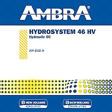 OLIO IDRAULICO HYDROSYSTEM 46 HV 5LT AMBRA NEW HOLLAND