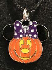 MINNIE MOUSE Necklace NEW Disney Pumpkin Halloween Jack O' Lantern