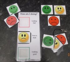 Communication & Behaviour  cards & boards ~ Autism ~ASD~SEN~ FROM £1.25 per set