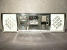 part sale: ROWE JUKEBOX R-80S:  UPPER FRONT GRILL w/ BUTTON PAD & SIDE PIECES