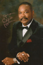 MOTOWN LEGEND personally signed 12x8 EDDIE HOLMAN - HEY THERE LONELY GIRL